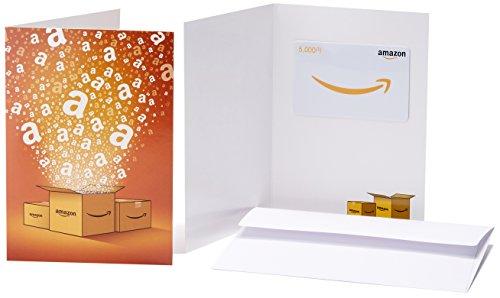 Amazonギフト券 - マルチパック・グリーティングカードタ...