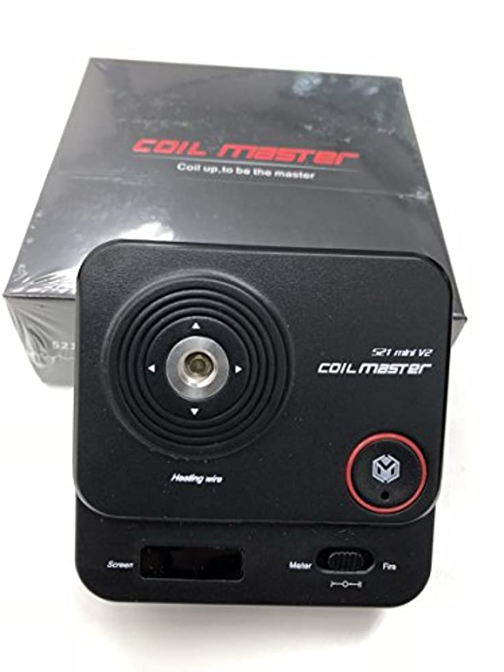 未接続公平衣装Coil Master 521 mini Tab V2 正規品 電子タバコ専用オームメーター 多機能オムニテスター