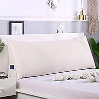洗濯可能な三角形 ヘッドボード枕,取り外し可能なウェッジの装飾 ベッドの上の大きなクッション 耐久性の厚み 読書枕 大型ボルスター枕-a 180x20x50cm(71x8x20inch)