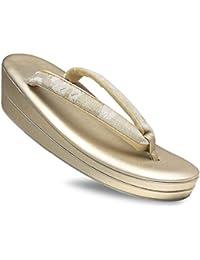 高級 帯地の鼻緒 フォーマル 草履 選べる 3サイズ Sサイズ フリーサイズ LLサイズ 単品 金 銀 ゴールド シルバー フォーマル 結婚式 入学式 卒業式 お宮参り