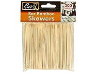 バーBamboo Skewers–80のパック