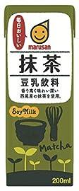 マルサン 豆乳飲料抹茶 200ml×24本
