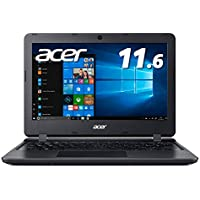 Acer ノートパソコン  11.6型 Celeron  4GB 64GBeMMC ブラック Windows 10 Home in S mode A111-31-A14PA【Amazon.co.jp 限定】