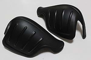 バイク 汎用 ナックル ガード ハンドル カバー 大型 サイズ ブラック カメラミニ三脚付属 M057