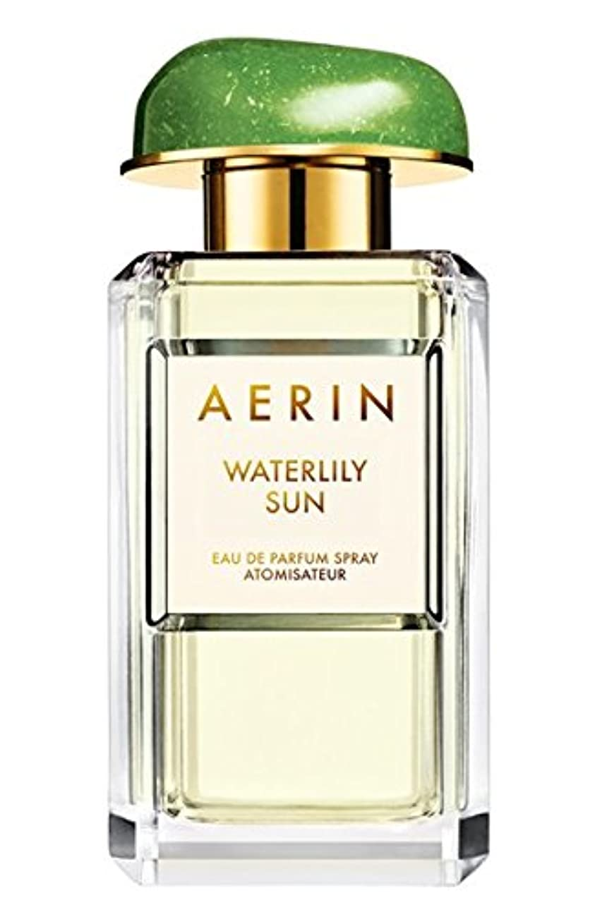 心臓画面後方AERIN 'Waterlily Sun' (アエリン ウオーターリリー サン) 1.7 oz (50ml) EDP Spray by Estee Lauder for Women