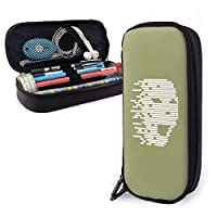 PUレザーペンケース バッグ Pencil Case Bag 収納ポーチ メイク 化粧ポーチ 旅行 便利 学校 仕事用 多用途