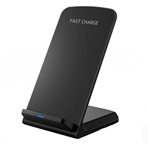 Seneo Qi急速ワイヤレス充電器 Quick Charge 2.0 二つのコイル ワイヤレスチャージャー Galaxy Note 5, Galaxy S6 Edge , Galaxy S7, Galaxy S7 Edge などの高速ワイヤレス充電/その他QI対応機種 USBケーブル付