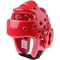 Fenteer アクセサリー 部品 ボクシング テコンドー ヘルメット スパークリング ギア ヘッドガード MMA 武道 ギア 全2色