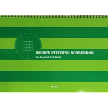 投手用9分割スコアブック 9scope Pitching Scorebook A4