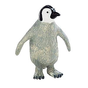 ブーリー ゴム製フィギュア 北極に住む動物たちシリーズ コウテイペンギン 仔 BU63542