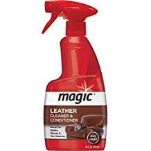 Magic Leather Cleaner & Conditioner, White, 414ml