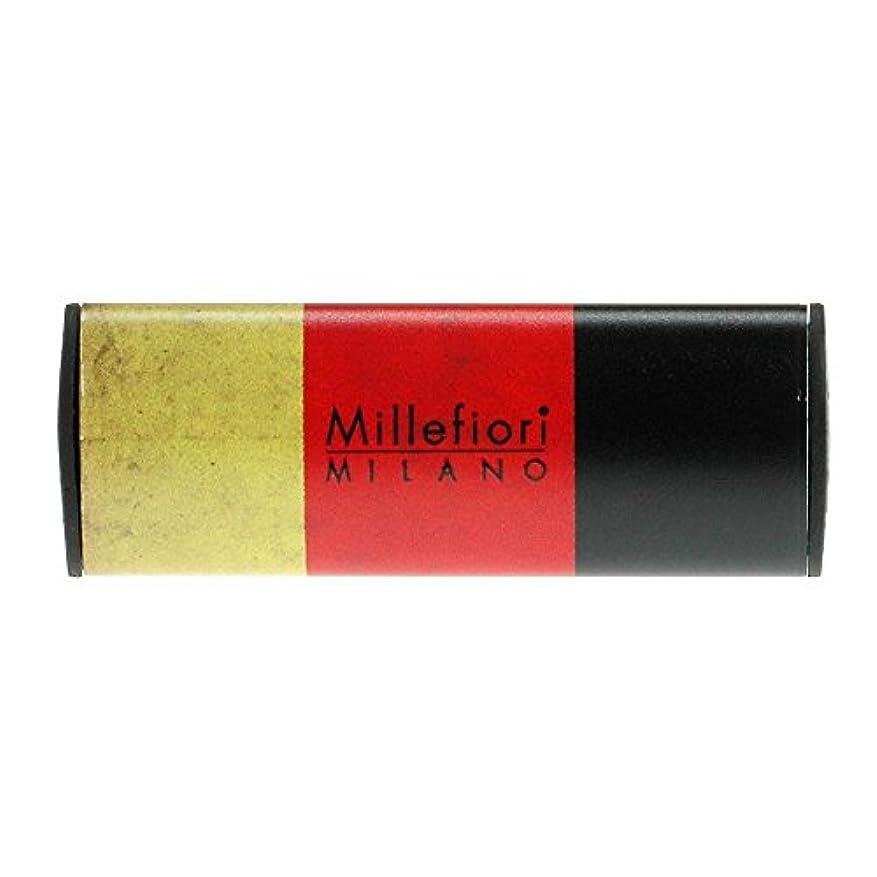逆説大胆な辞任Millefiori カーエアフレッシュナー FLAG スパイシーウッド CDIF-G-003