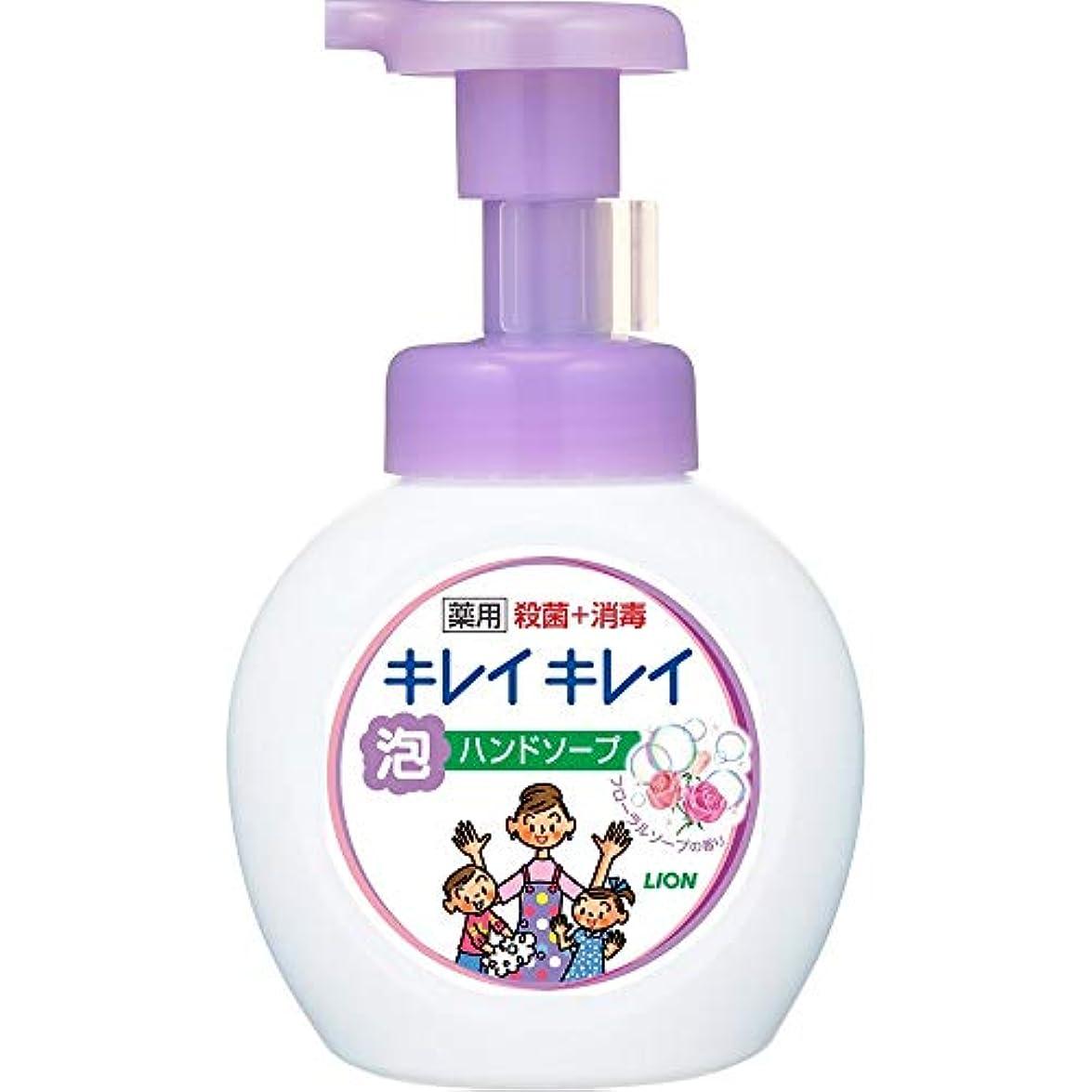 ほこりマイクジャニスキレイキレイ薬用泡ハンドソープ フローラルソープの香り 本体250mL+詰替450mL