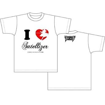 フリージング Tシャツ アイラブサテライザー柄 ホワイト サイズ:M