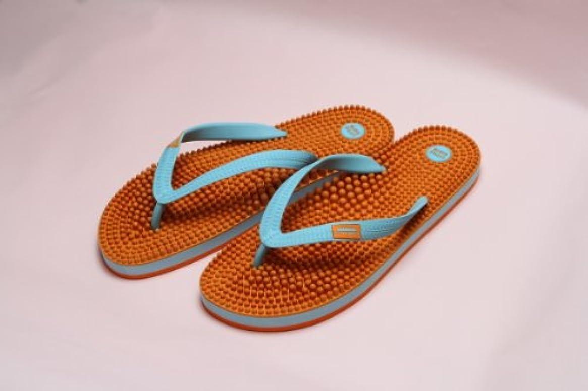 ミトン海峡舞い上がるリトルアース ボディポップ(body+pop) ビーチ(BeacH) 5002 オレンジ/ターコイズ 23cm
