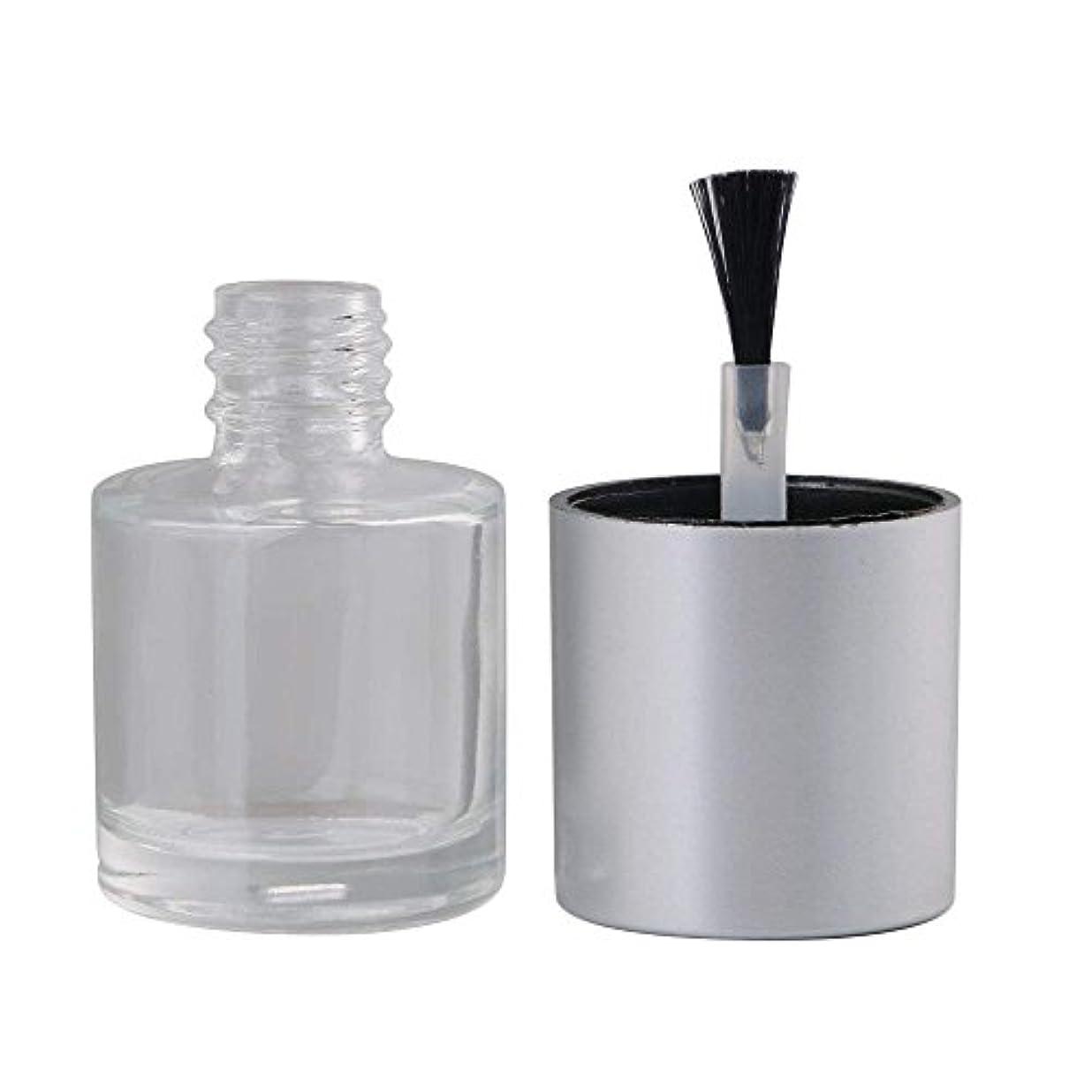 南報酬のお願いしますDiystyle 10個入 マニキュアボトル 空ボトル 10ml 小分けボトル 詰め替え 化粧品収納 旅行用品 ガラス グレー