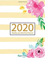 2020 Planner Weekly and Monthly: Jan 1, 2020 to Dec 31, 2020: Weekly & Monthly Planner + Calendar Views | Inspirational Quotes and Watercolor Floral December 2020