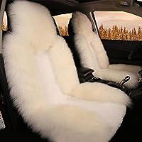 Moobom シートクッション カーウールクッション 座布団 カーシート 柔らかい 暖かい ウール 冬