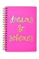 Dreams &スキームピンクとゴールド箔ノートブック