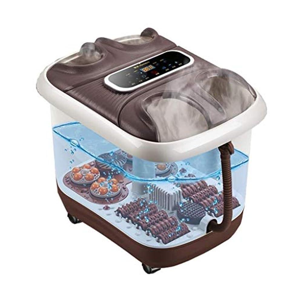 フットマッサージャー、フルフットマッサージャー-高速TPS加熱システム、10個の電動マッサージローラー、一定の温度制御、ストレス/痛みの緩和、血液循環/睡眠の促進
