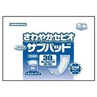 (まとめ)近澤製紙所 尿とりパッド さわやかセピオ サブパッドL 30枚入 袋 SD-30L【×5セット】