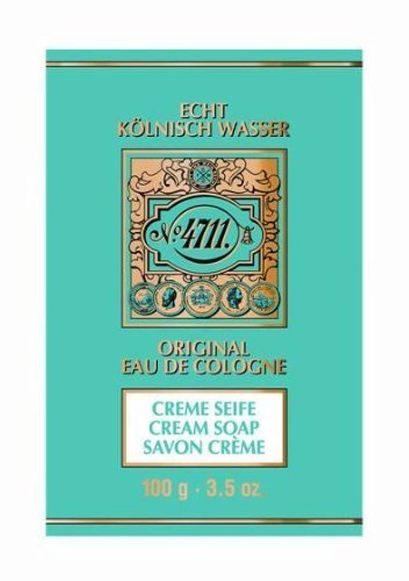 まばたき自明量4711 Cream Soap 100g by Globalbeauty [並行輸入品]