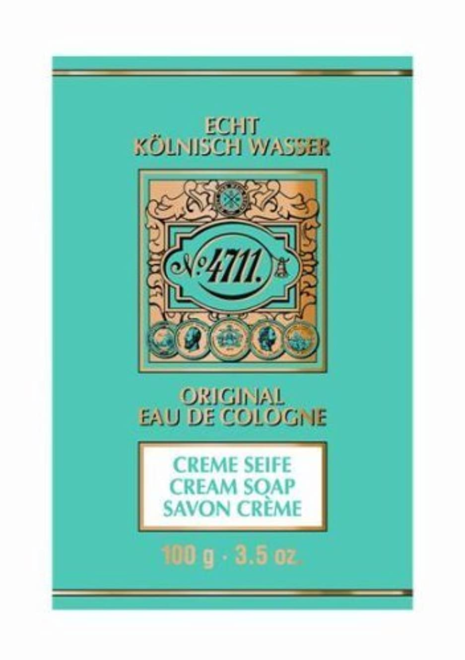 解体するバスト人気の4711 Cream Soap 100g by Globalbeauty [並行輸入品]