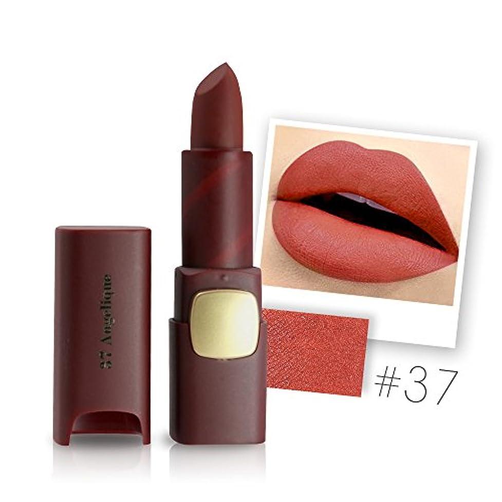 血まみれのどうやら餌Miss Rose Brand Matte Lipstick Waterproof Lips Moisturizing Easy To Wear Makeup Lip Sticks Gloss Lipsticks Cosmetic
