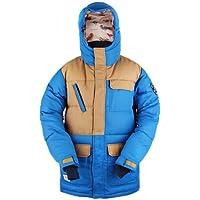 KELLAN(ケラン) EDITH スノーボードウェア メンズ ジャケット ベージュ/ブルー 610401-XL ベージュ/ブルー XL