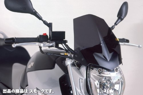 Puig 4117H NEW GENERATION 【SMOKE】 SUZUKI GSR600/GSR400(06-11) プーチ スクリーン カウル オートバイ バイク パーツ