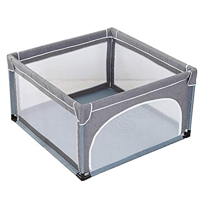 安全な赤ちゃんの遊び場の幼児の遊び場は、ライン屋内の屋外の子供と一緒に縁取りされたアンチコリジョンでゲームのフェンスをプレイ (サイズ さいず : 120×120cm)