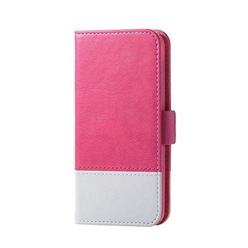 エレコム iPod Touch用 ソフトレザーカバー/ツートンタイプ  ピンク×ホワイト  AVA-T17PLFDTPN