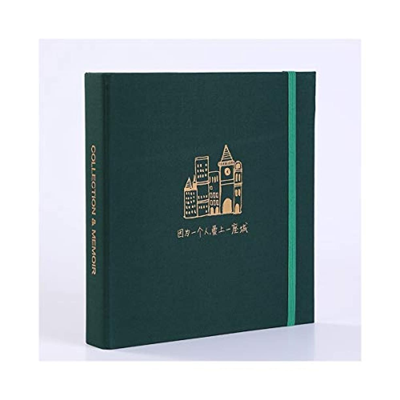 拒絶シーサイド小売RLYBDL トラベルフォトアルバム、チケットムービーチケット入場料コレクションブック、トラベルアルバム (Color : C)