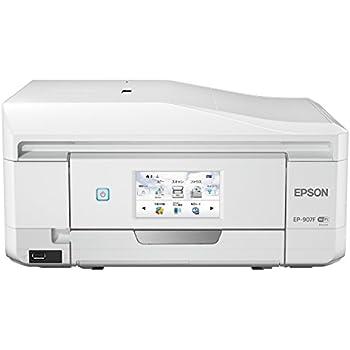 EPSON インクジェット複合機 Colorio EP-907F 無線 有線 スマートフォンプリント Wi-Fi Direct FAX ADF