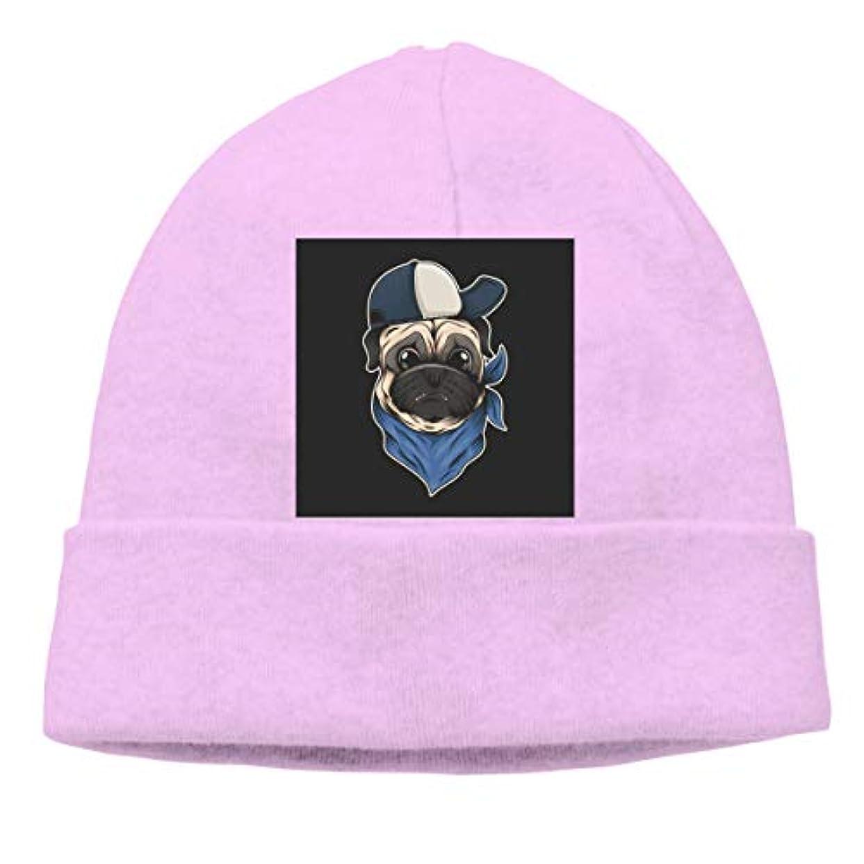 不機嫌咳博物館パグ犬の帽子とバンダナベクトル病気 - 副本 チ性抜群 通気性抜群 柔らかい 防風 無地 優れた弾力性 フェードしません 男性用と女性用のキャップ