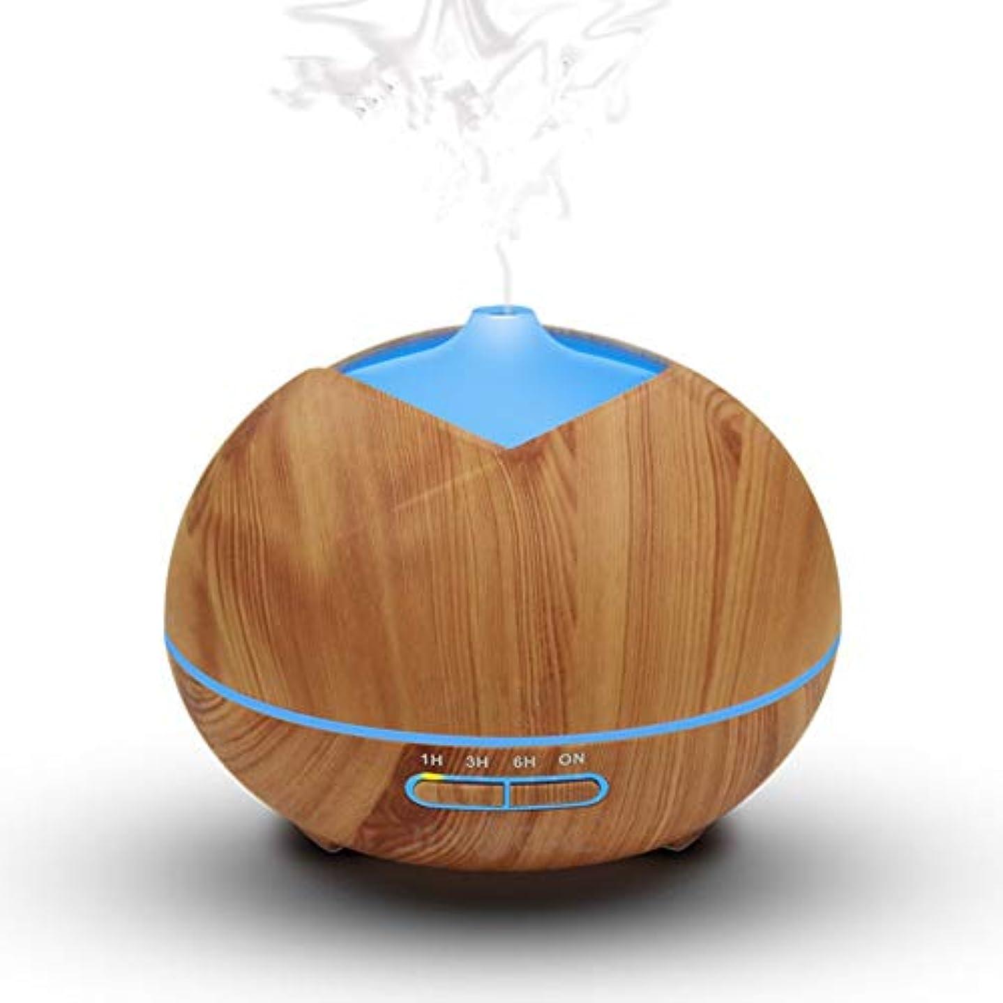 ペルー経過戸惑うAMAZACER 環境に優しい材料木目エッセンシャルオイルディフューザーデスクトップ加湿器超音波クールミスト、赤ちゃんホームオフィス-Bの13x17cm(5x7inch)用アロマディフューザー (Color : A, Size : 13x17cm)