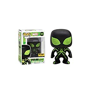 Funko Pop! Marvel #195 Spider-man Stealth Suit Glow in The Dark (Hot Topic Exclusive) [並行輸入品]