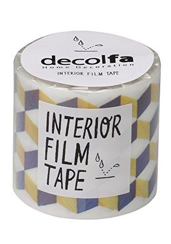 ニトムズ インテリアフィルムテープ 50mm decolfa ジオメトリック