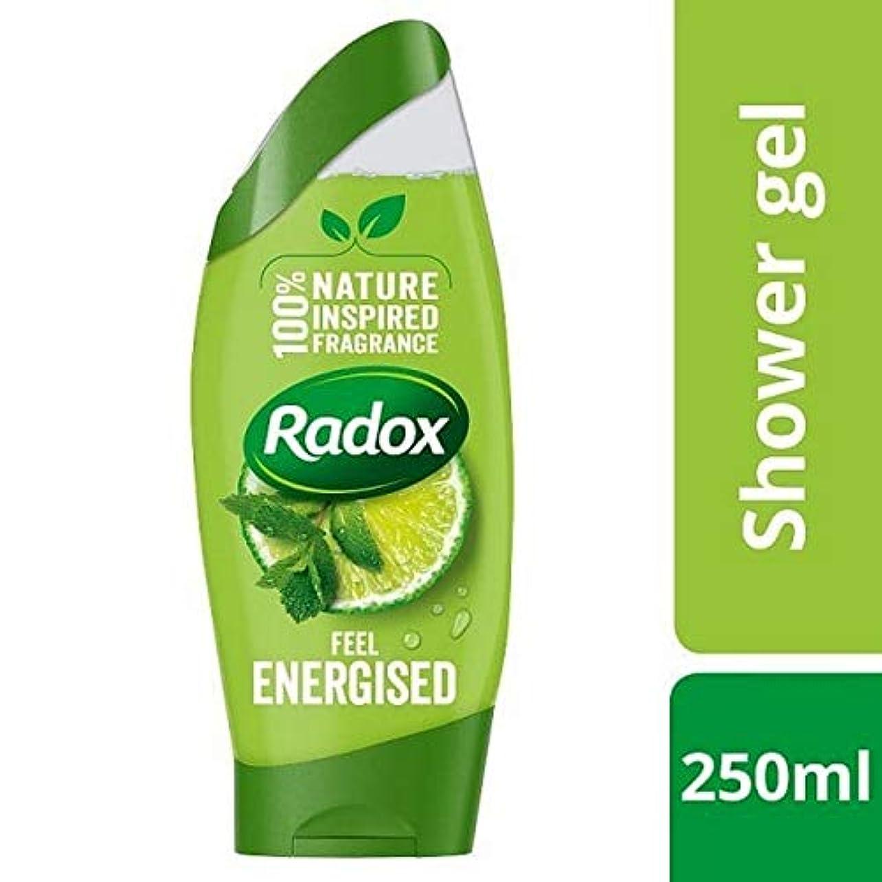 レインコート合わせて追い出す[Radox] Radoxは通電シャワージェル250ミリリットルを感じます - Radox Feel Energised Shower Gel 250ml [並行輸入品]