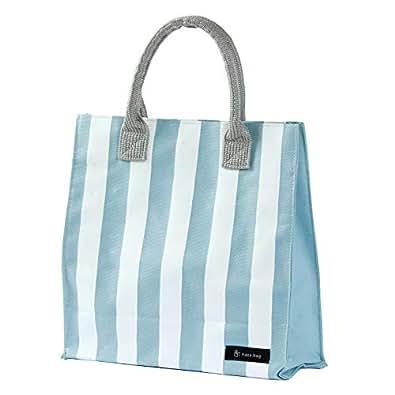 [ハコバッグ] hacobag トートバッグ h0423 beach blue ビーチブルー S
