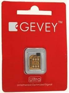 Gevey iPhone4対応 SIMロック解除アダプタ Ultra(Micro SIMカット不要)