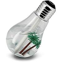 SCS ETC 加湿器 電球型 USB充電 400mL容量 低騒音 LEDライト付き 7色変換