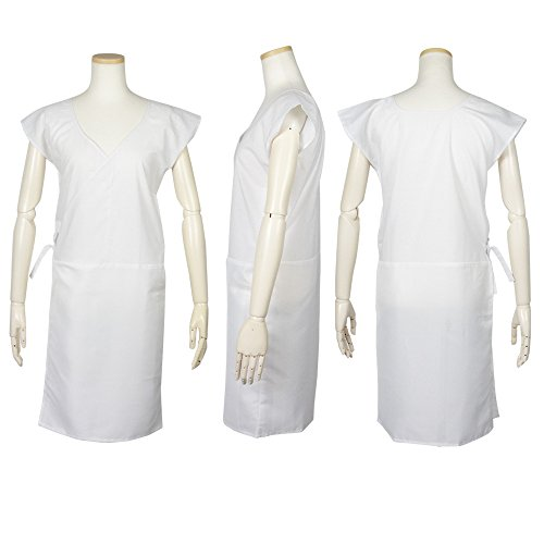 (キョウエツ) KYOETSU レディース洗える夏肌襦袢 ゆかた肌着 浴衣スリップ 白 絽生地 袖なし (フリー)