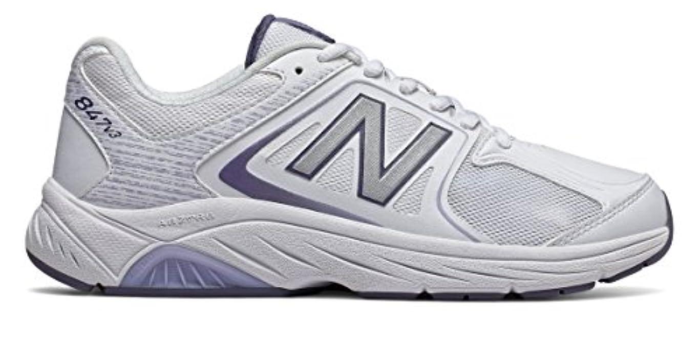 外交官規定読み書きのできない(ニューバランス) New Balance 靴?シューズ レディースウォーキング New Balance 847v3 White with Grey ホワイト グレー US 12 (29cm)