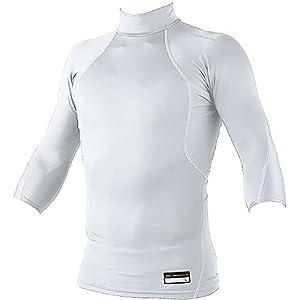 ZETT(ゼット) 野球 フィジカルコントロールウェア アンダーシャツ プロステイタス (ハイネック・7分袖) BPRO555Z