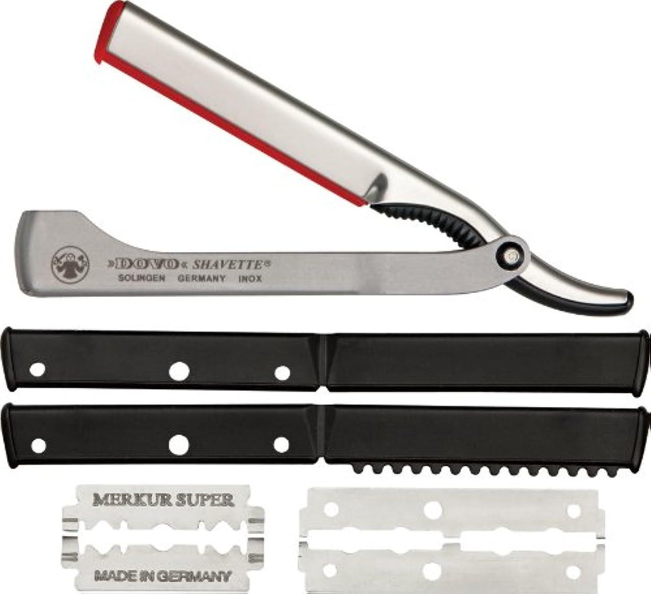 アシスト樫の木そこDOVO Solingen - Shavette, straight edge razor, changeable blade, 201006