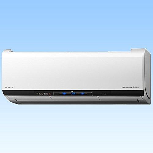 RoomClip商品情報 - 日立 【エアコン】ステンレス・クリーン 白くまくんHITACHI おもに23畳用(電源200V・クリアホワイト) RAS-X71E2-W