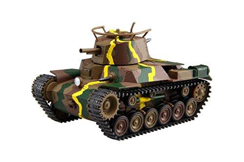 ちび丸ミリタリーシリーズ SPOT No.4 九七式中戦車チハ 57 砲塔 前期車台 ディスプレイ用彩色済み台座付き  TM SPOT-4  フジミ  F TM SPOT-4 キュウジュウナナシキ センシャ  B