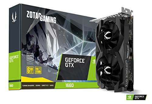 ZOTAC GAMING GeForce GTX 1660 6GB GDDR5 グラフィックスボード VD6918 ZTGTX1660-6GB