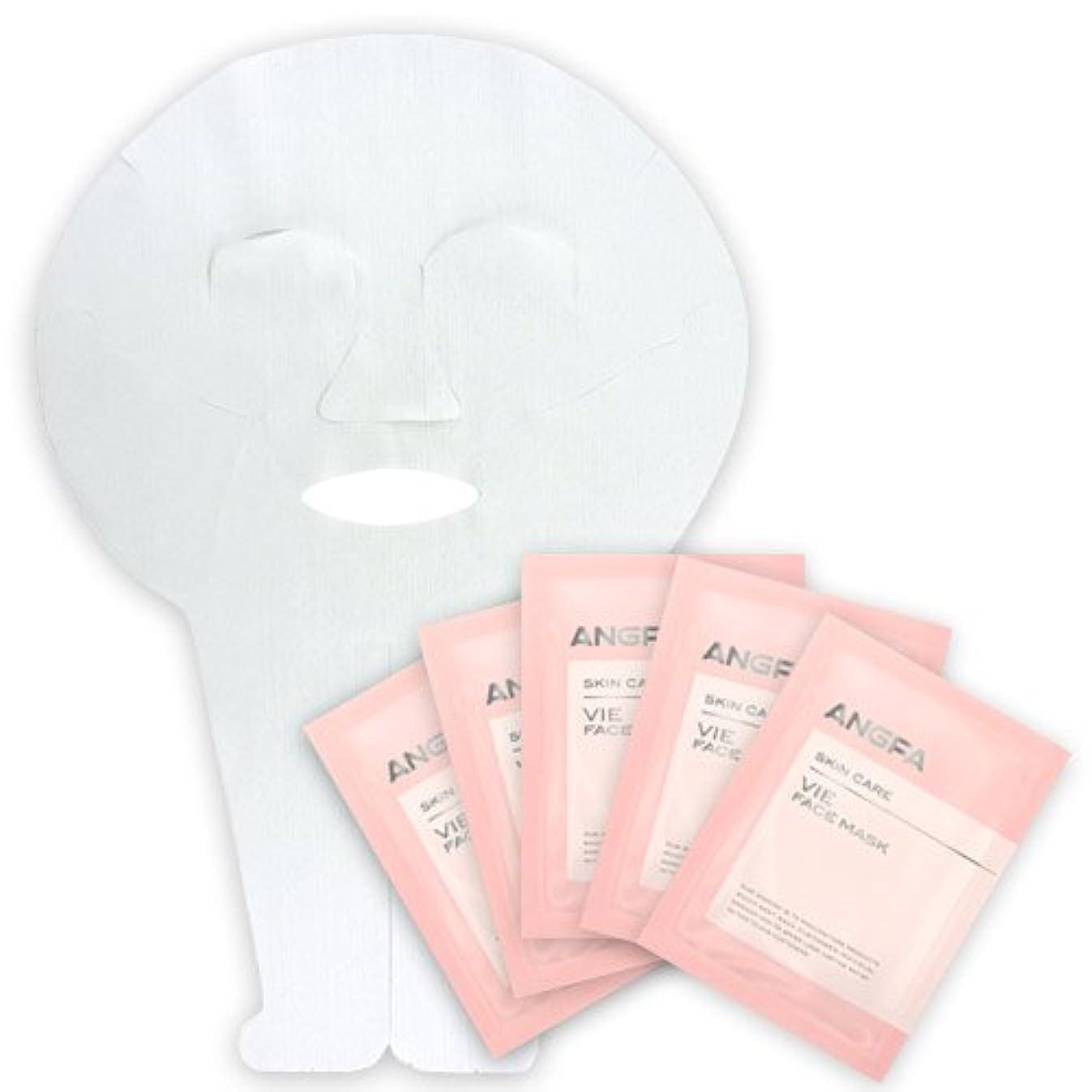共感する無意識はっきりとアンファー (ANGFA) VIE フェイスマスク 5枚